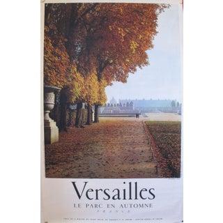 1950s French Travel, Autumn Versailles park