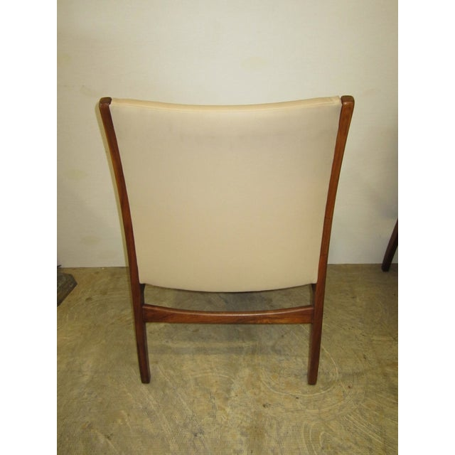 Jens Risom Mid Century Side Arm Chair Pair - Image 5 of 9
