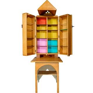 Cabinet and Desk by Jan De Swart