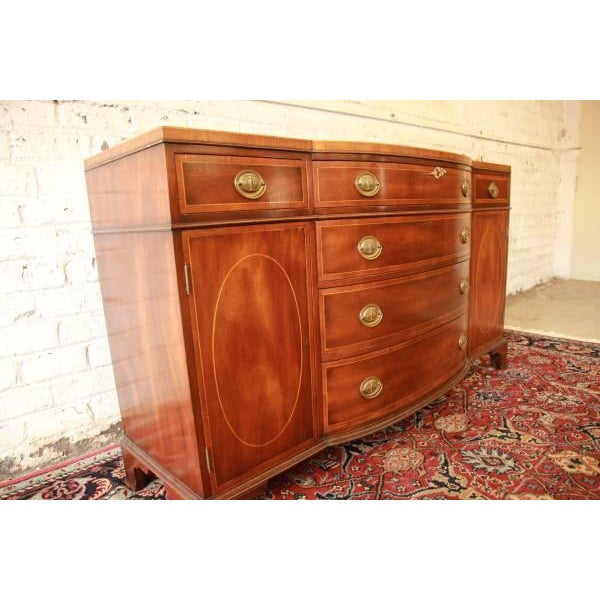 Image of Vintage Mahogany Duncan Phyfe Buffet by Kittinger