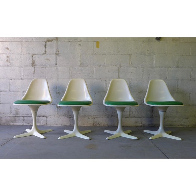 Mid Century ModernTulip Dining Chairs by Burke - Image 2 of 5