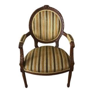 Louis XV Accent Chair