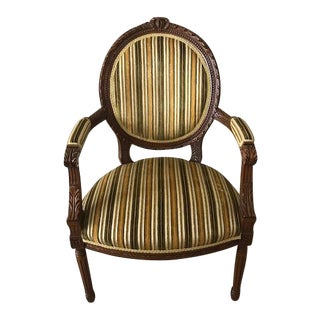 Louis XV Accent Chair