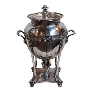 Old Sheffield Plate Tea Urn