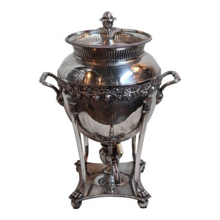 Old Sheffield Plate Tea Urn