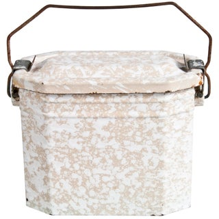 French Enamel Lunch Pail
