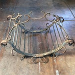 Image of Wrought Iron Log Carrier