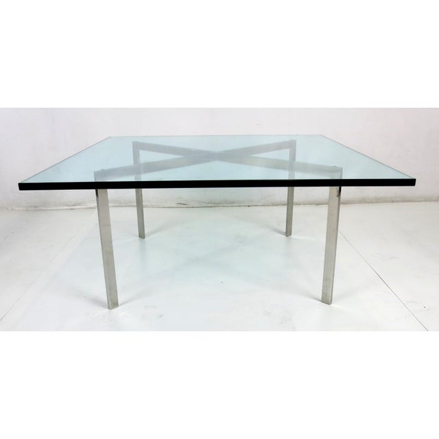 World Class Early Barcelona Coffee Table By Mies Van Der Rohe For Knoll Decaso