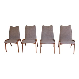 Chet Beardsley Mid-Century Danish Modern Dining Chairs - Set of 4