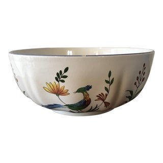 Gien France Round Serving Bowl