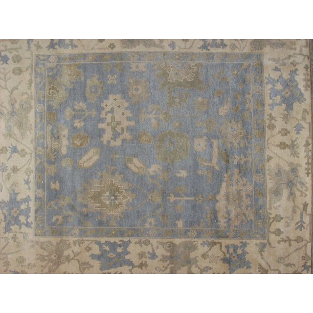 "Leon Banilivi Oushak Carpet - 9'7"" X 8'2"" - Image 3 of 5"