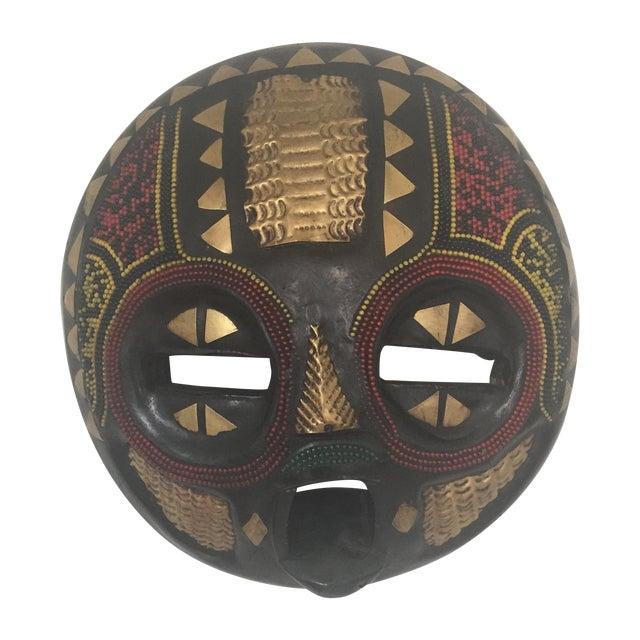 African Ghana Baluba Moon Mask - Image 1 of 6