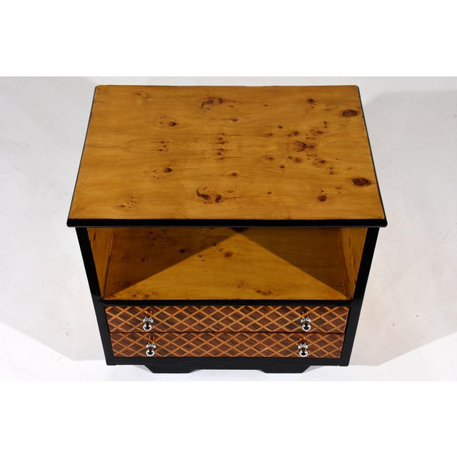 Pair of Mid-Century Modern Nightstands or Side Tables - Image 7 of 10