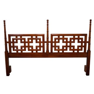 Henry Link Asian Inspired King Size Poster Headboard