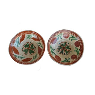 Hand Painted Bowls - A Pair