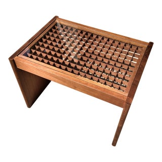 Komfort Geometric Teak Coffee Table