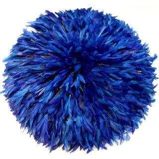 Juju Hat Cobalt Blue African Wall Hanging