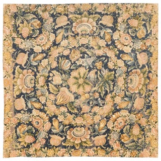Antique 17th Century French Needlework Tapestry