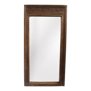 Rajasthan Doorway Teak Mirror