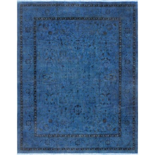 Pasargad Overdyed Lamb's Wool Area Rug - 12′5″ × 15′5″