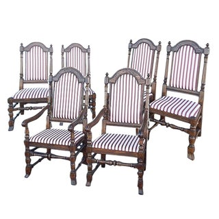 Ethan Allen Royal Charter Dining Chairs - Set of 6