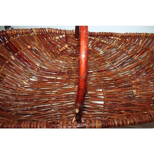 Monumental Hickory Gathering Basket - Image 4 of 6
