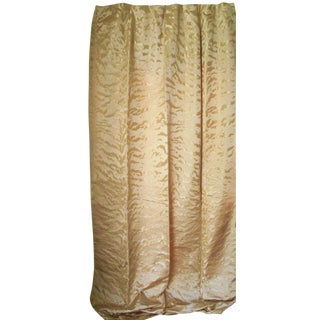Silk Damask Drapery Panel