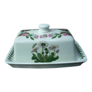 Portmeirion Floral Butter Dish