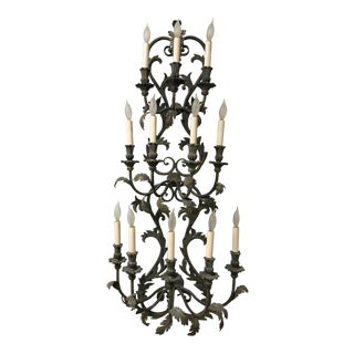 Large Iron French Sconces - A Pair