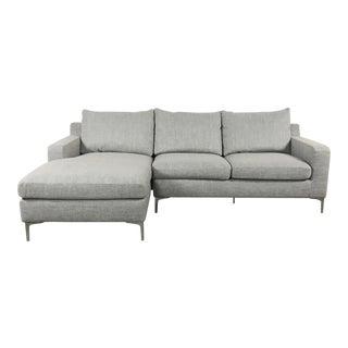 Modern Gray Sectional Sofa