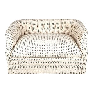 Vintage Tufted Back Loveseat