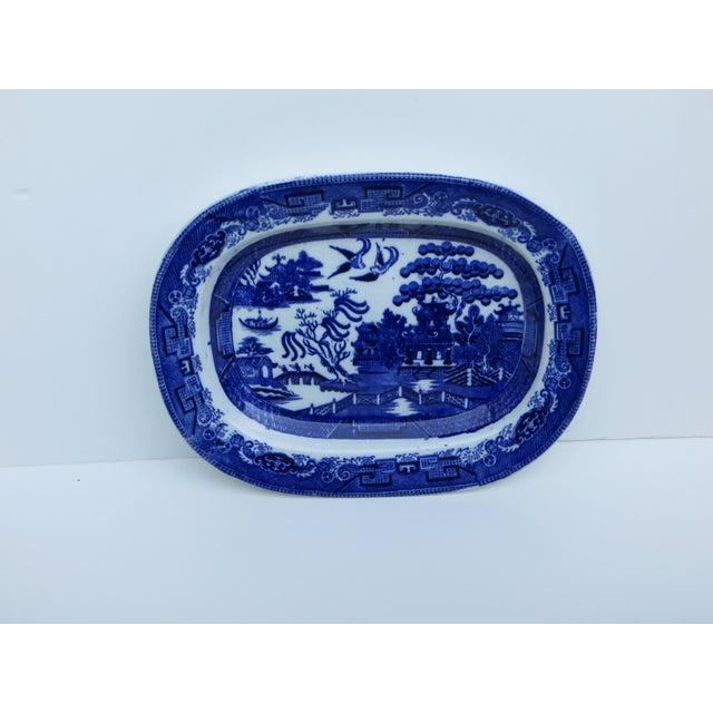 Flow Blue Platter - Image 2 of 6
