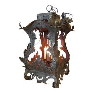 Italian Florentine Lantern Chandelier