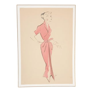 1940's Hendlin Fashion Illustration