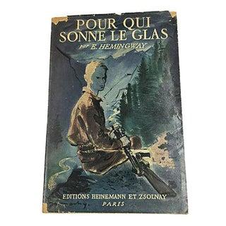 """""""Pour Qui Sonne Le Glas"""" Vintage Book by Ernest Hemingway"""