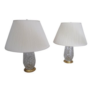 Baccarat Crystal Lamps - A Pair