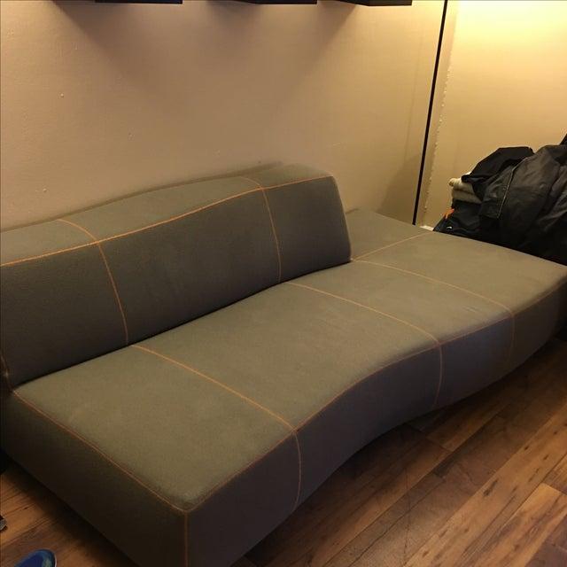 Image of B&B Italia Modern Gray Bend Sofa