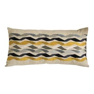 "James Hare Large Bolster Linen Pillow - 29"" x 15"""