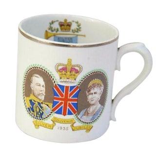Circa 1935 George V & Mary Silver Jubilee Mug