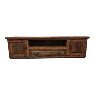 Rustic Media Console/ Tv Stand