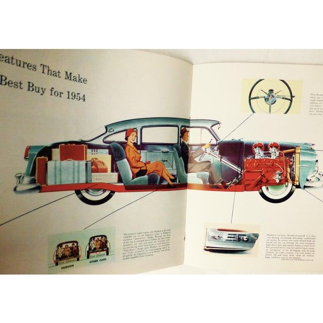 Image of 1954 Hudson Car 16-Page Brochure