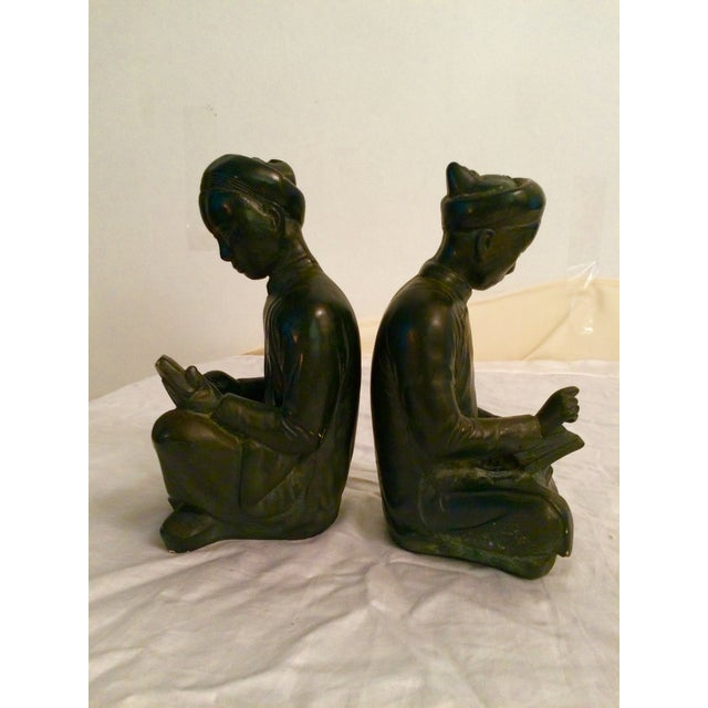 Image of Asian Style Bookends - A Pair