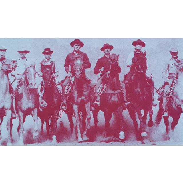 Magnificent 7, screen print by Russell Young - Image 1 of 3