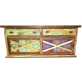 Eco-Friendly Reclaimed Wood Buffet