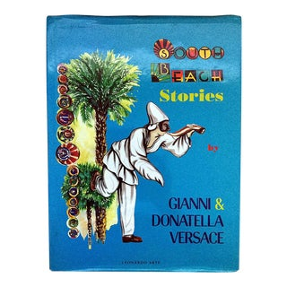 South Beach Stories Book by Gianni & Donatella Versace, Signed