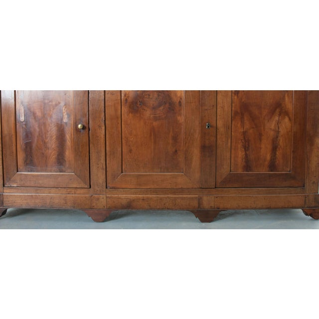 French Late 19th Century Walnut Louis Philippe Enfilade - Image 5 of 10