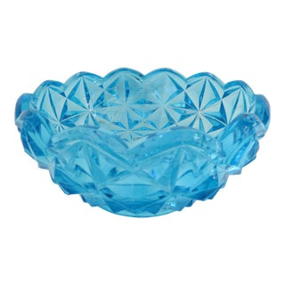 Peacock Blue Candy Dish