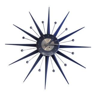 Mid-Century Welby Starburst Clock