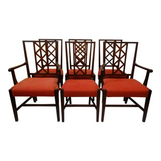 T. Robinson & Son Mahogany Dining Chairs - Set of 6