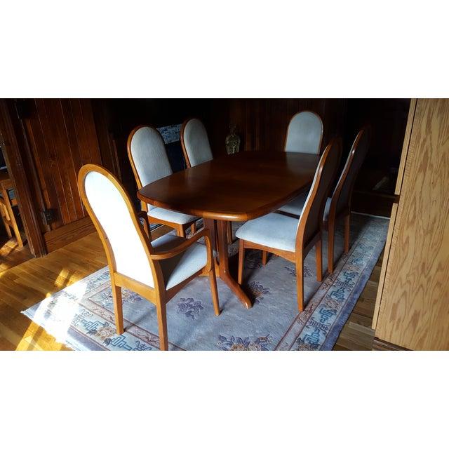 Svegards Markaryd Dining Set - Set of 7 - Image 3 of 7